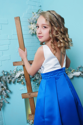 Платье детское (артикул 2Н118-3)