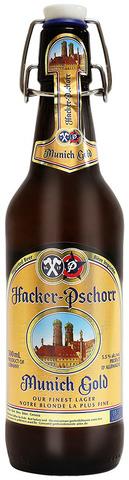 Пиво светлое Хакер-Пшорр Мюнхнер Голд 5,5* ст. Алкомаркет 0,5л