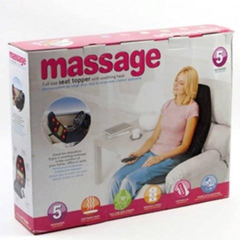 Массажная накидка Massage Seat Topper с подогревом