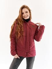 Куртка-бомбер Нью бордо