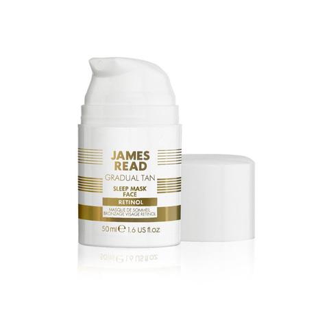 JAMES READ | Ночная маска для лица уход и загар с ретинолом, (50 мл)