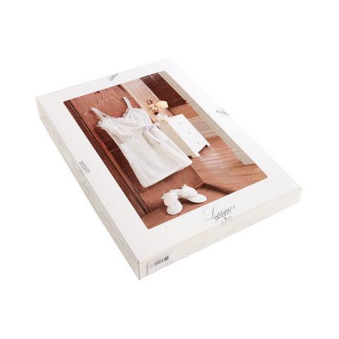 Набор женский для сауны 3 предмета  LUNA кремовая  Soft cotton Турция