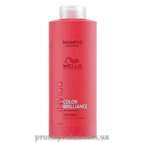 Wella Invigo Color Brilliance Shampoo Fine - Шампунь для тонкого і нормального фарбованого волосся 1000мл