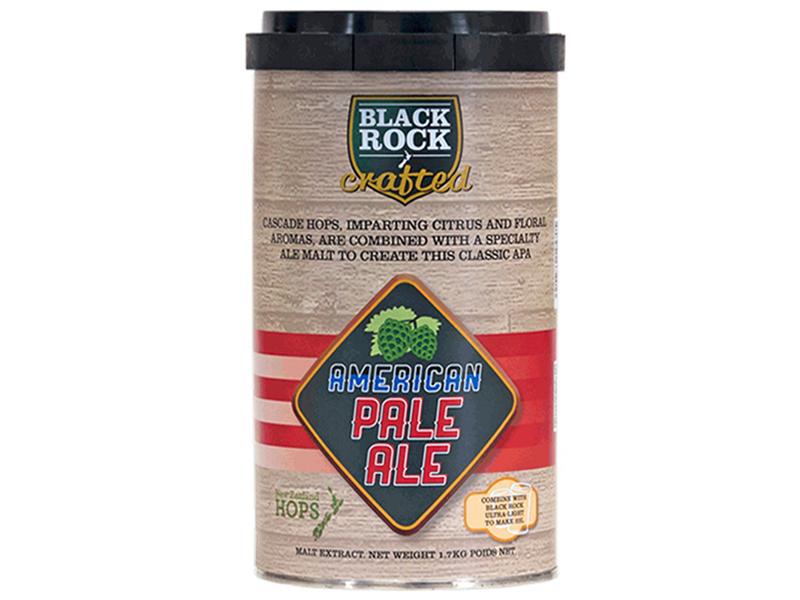 Уценка пива Солодовый экстракт Black Rock Crafted American Pale Ale (уценка) Black_Rock_Crafted_American_Pale_Ale.jpg