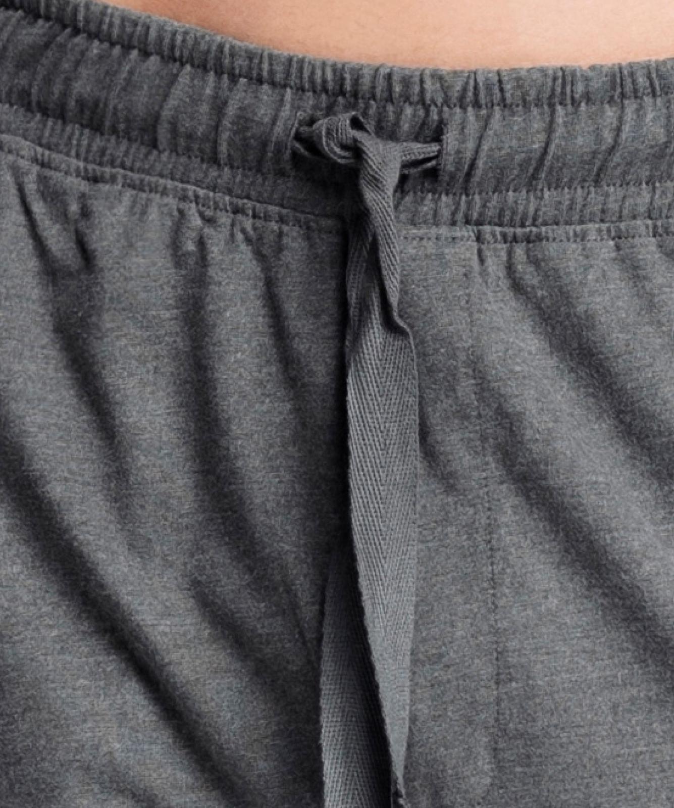 Мужские шорты пижамные Atlantic, 1 шт. в уп., хлопок, серый меланж, NMB-039