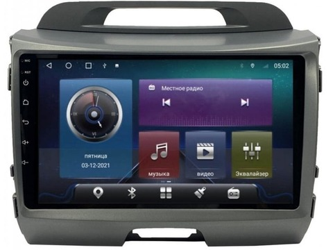 Магнитола для Kia Sportage (2010-2015) Android 10 4/64GB IPS DSP модель CB2020TS10