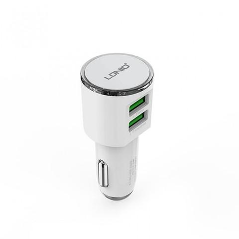 LDNIO Автомобильное зарядное устройство - DL-С29 + USB кабель Lightning