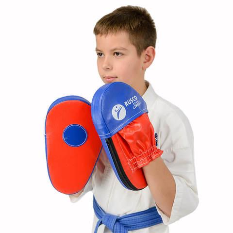Лапы боксерские,  прямые Rusco