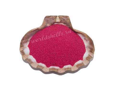 Розовый кварцевый песок 1 кг.