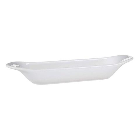 Фарфоровое блюдо для оливок, белое, артикул 638809, серия Grands Classiques