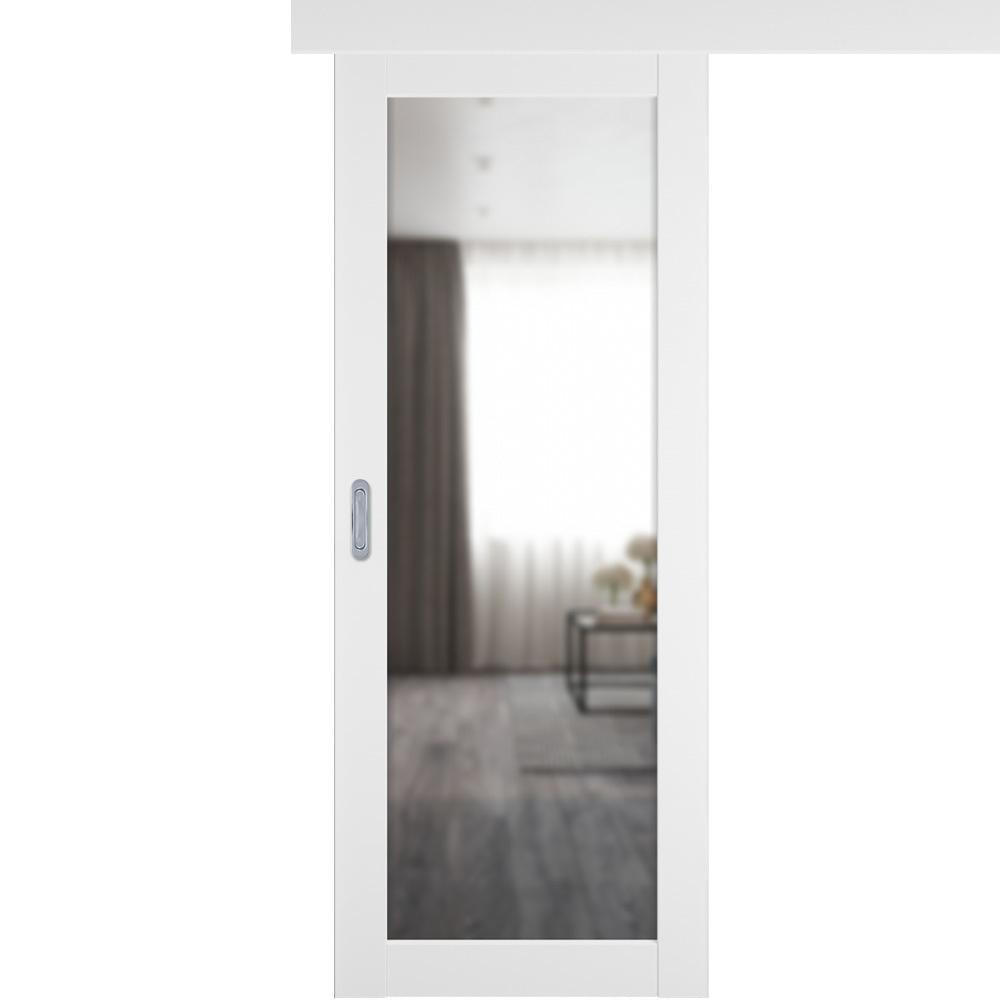 Двери с зеркалом Одностворчатая дверь купе Emalex 32 ice с зеркалом с одной стороны emalex-32-ice-mirror.jpg