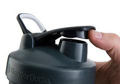 Шейкер большой Blender Bottle Pro45 1330мл прозрачный/черный - 2