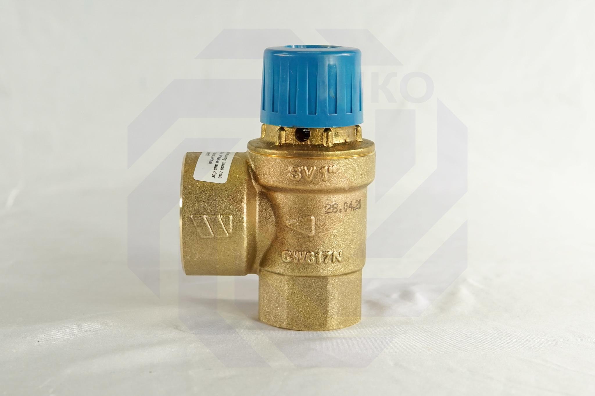 Клапан предохранительный WATTS SVW 4 бар 1