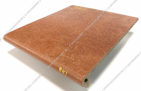 Stroeher - Keraplatte Roccia 841 rosso 340x294x12 артикул 9340 - Клинкерная ступень - флорентинер