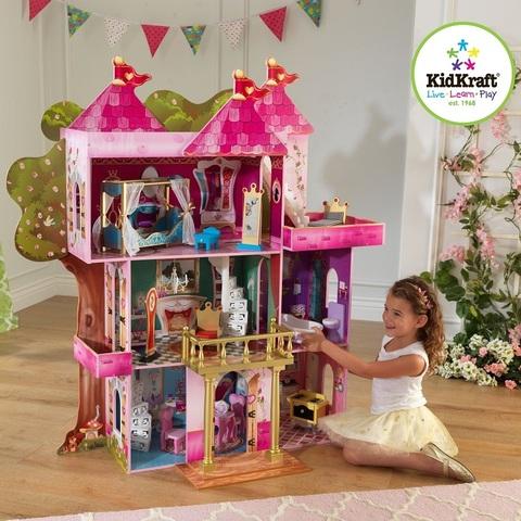 """Замок-дом для кукол Winx и Ever After High """"Книга Сказок"""" (Storybook) с мебелью"""