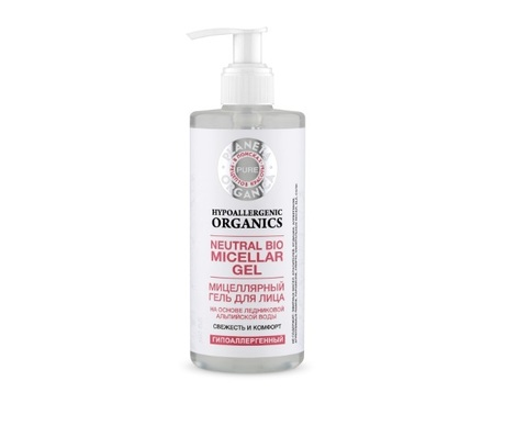Мицеллярный гель для лица 300мл (Planeta Organica Pure)