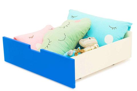 "Ящик для кровати ""Svogen синий"""