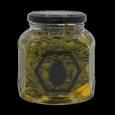 Тыквенные семечки в меду, 400 гр