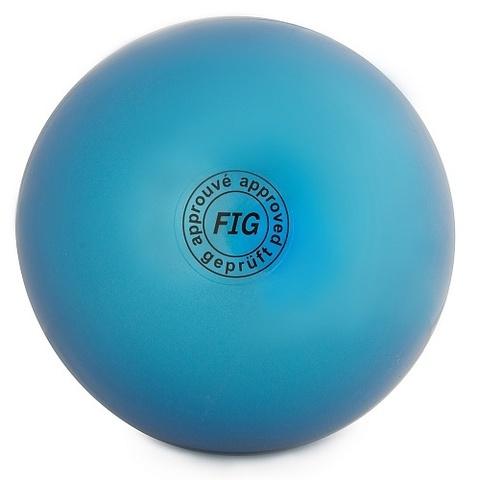 Мяч для худ. гимнастики (15 см, 280 гр)  синий AB2803
