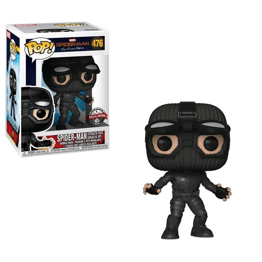 POP! Bobble: Marvel: Spider-Man: Far From Home: Stealth Suit Goggles UP (Exc) 39812