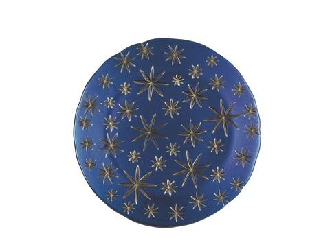 Блюдо круглое синее, артикул 99657. Серия Stars