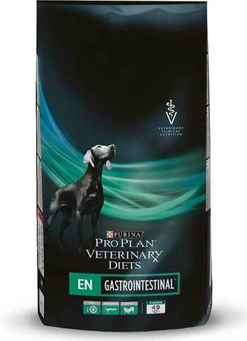 PURINA VETERINARY DIETS Диетический корм для собак при патологии ЖКТ Gastro Enteric EN