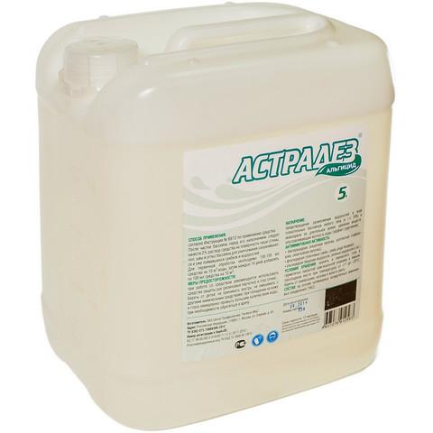 Средство для предотвращения размножения водорослей в воде бассейнов Астрадез Альгицид 30 л (беспенный концентрат)