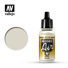 Model air 119-17ml. White gray