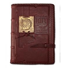 Ежедневник кожаный в стиле 19 века модель 35