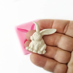 1069 Молд силиконовый. Кролик.