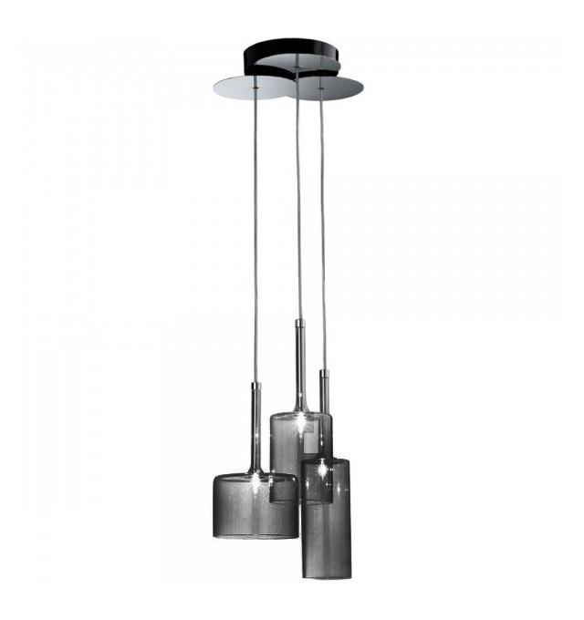 Подвесной светильник копия SP SPILL 3 / Spillray by AXO LIGHT  (серый)