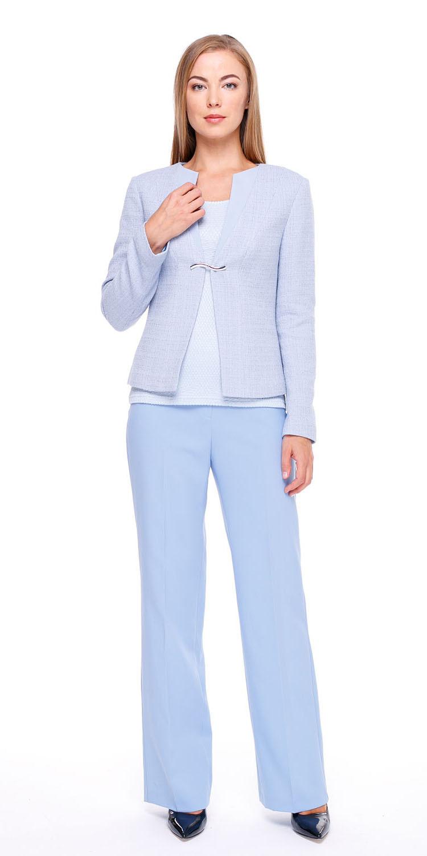 Брюки А430а-362 - Прямые широкие классические брюки со стрелками. Отличная посадка, украсит любую фигуру. Эти брюки разнообразят как повседневный, так и офисный гардероб. Брюки полностью соответствуют офисному дресс-коду.
