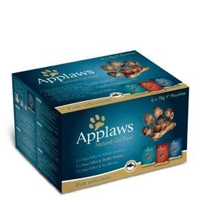 купить  Applaws Cat Fish Multi Pouch набор паучей