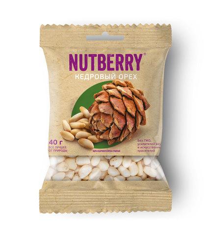 NUTBERRY Кедровый орех 40 г
