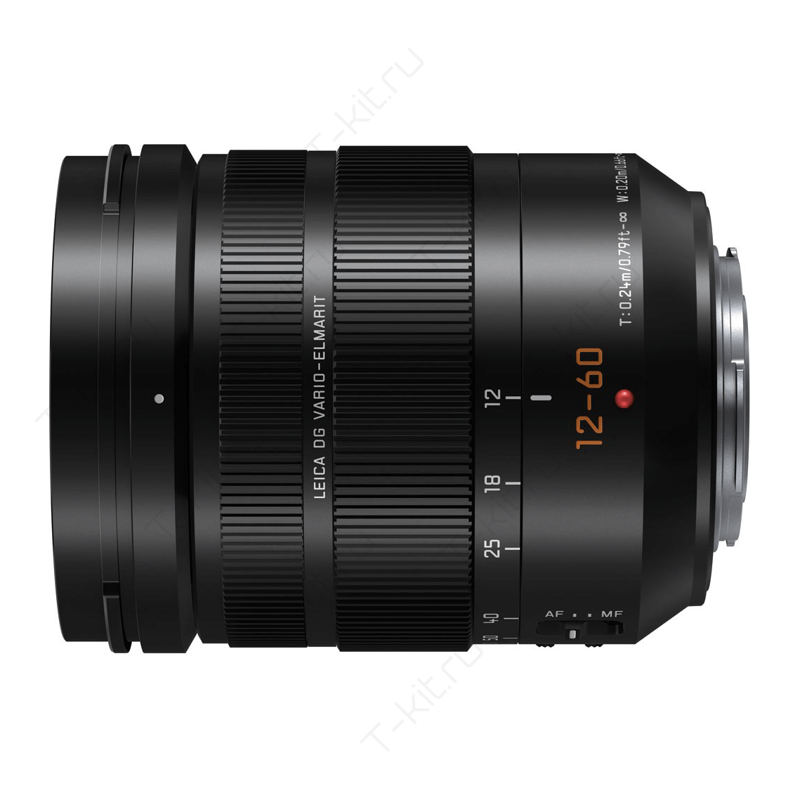 Panasonic 12-60mm вид сбоку