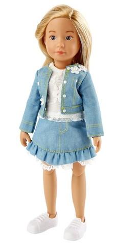 Куколка Вера в весеннем наряде, Kruselings (Крузелингс), 23 см