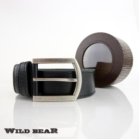 Ремень WILD BEAR RM-007f Black Premium