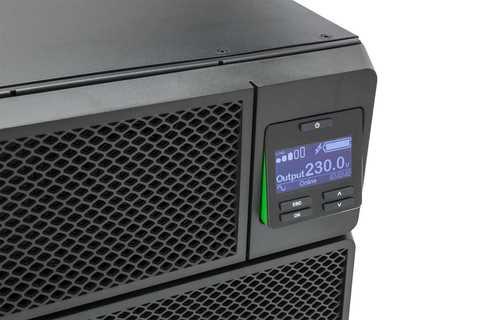 Источник бесперебойного питания APC Источник бесперебойного питания APC Smart-UPS SRT, On-Line, 5000VA / 4500W, Rack/Tower, IEC, LCD, Serial+USB, SmartSlot, подкл. доп. батарей