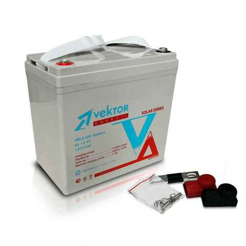 Аккумулятор VEKTOR ENERGY GL 12-55