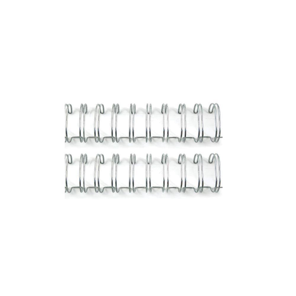 Пружины для биндера- The Cinch SILVER- Диаметр 1,6 см-2шт.