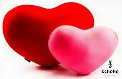 Подушка-игрушка антистресс Gekoko «Большое розовое сердце» 5