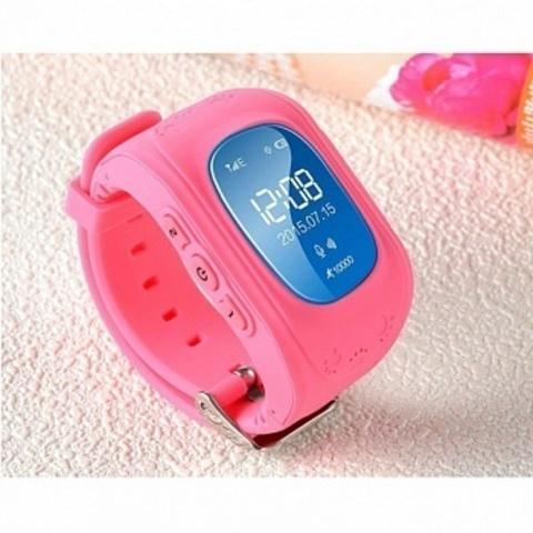 Детские часы Smart Baby Watch Q50 Pink Розовые