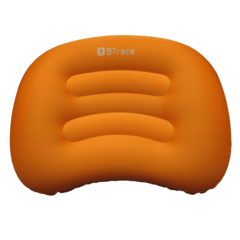 Подушка дорожная BTrace Air 51x36х8 см (Оранжевый/серый)