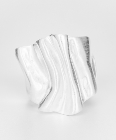 Кольцо THE BIOMORPH silver