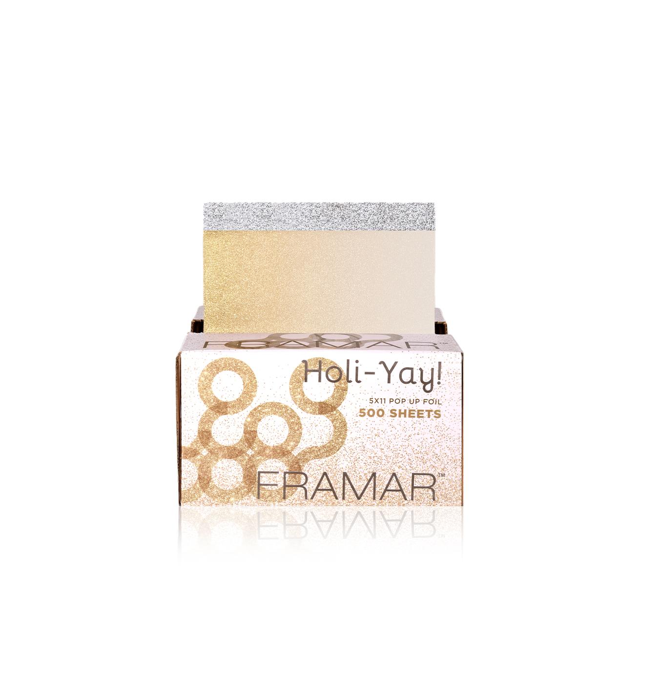 Pop Ups Holi-Yay | Вытяжная фольга с тиснением «Золотая лихорадка». (500 листов 12,5 х 28 см) . Лимитированная коллекция.