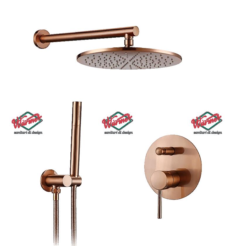 Душевая программа Душевой комплект Warmer Rose Gold Line 10D 6-_10_-250-mm.png