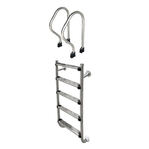 Лестница Aquaviva SP-515 (5 ступ.) из 2-х элементов / 15822