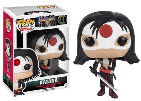Фигурка Funko POP! Vinyl: Suicide Squad: Katana 8402