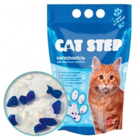 купить кет степ Cat Step Классический наполнитель силикагелевый