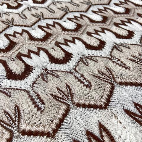 Ткань трикотаж Missoni  бежевый цвет 3146